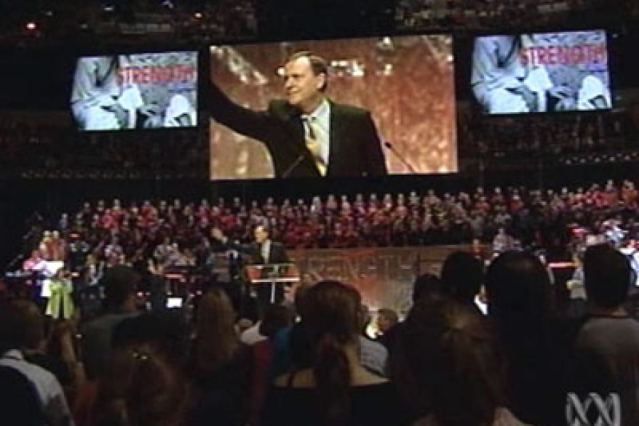 Peter Costello - Hillsong 2005