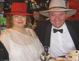 Gina Rinehart and Barnaby Joyce