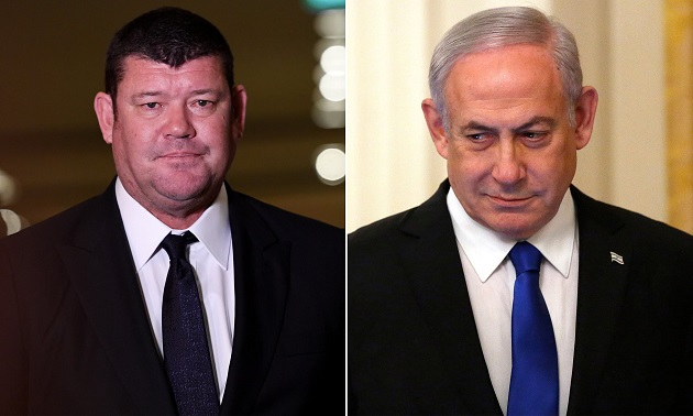 James Packer and Benjamin Netanyahu