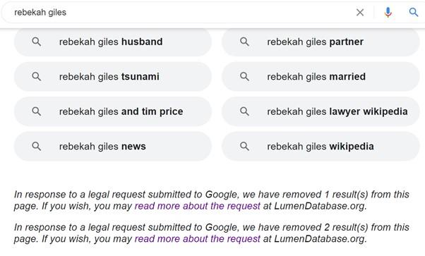 Rebekah Giles - Google 2