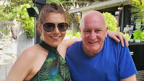Ashleigh Petrie and Magistrate Rodney Higgins