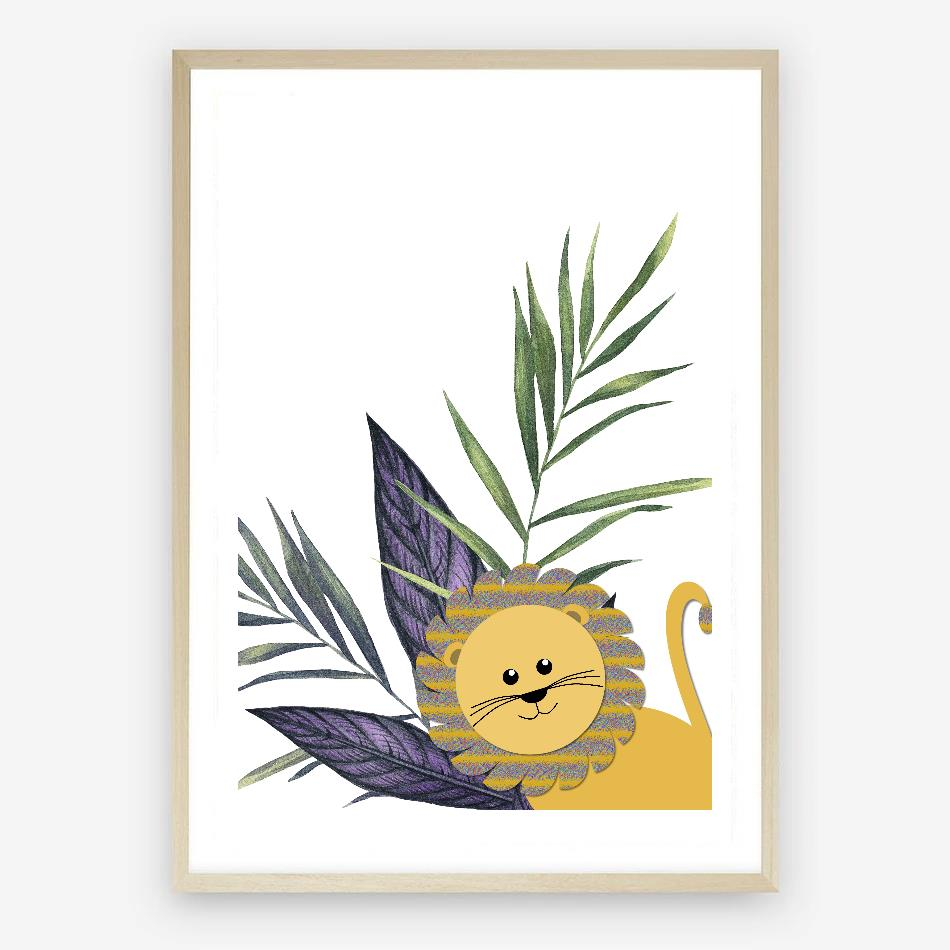 Lion King Digital Nursery Print