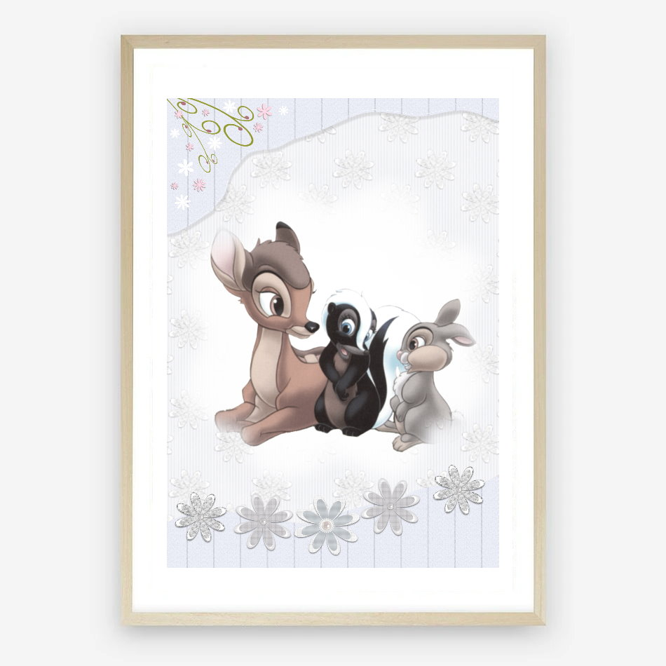 Bambi Nursery Print Digital Download