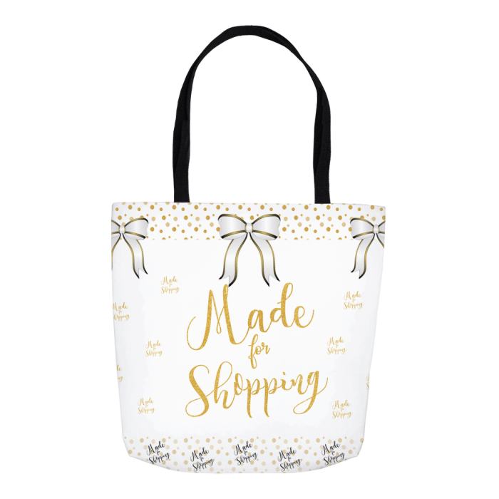 Gift For Her - Shopping Tote Bag - By Kangaroo Kids Designs