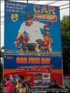 baliho car free day sragen di CFD