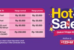 Promo Paket Internet Tri Hot Sale Maret 2017