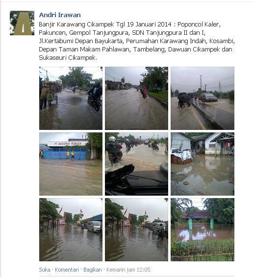 Info Banjir Karawang 2014 (2/5)