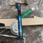 床フローリング材の施工②