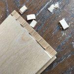 床フローリング材の施工④
