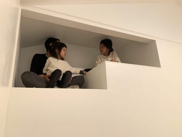 階段上収納