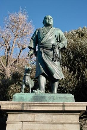 The Statue of 西郷隆盛 (Saigo Takamori) - Photo by Daisuke Sakai