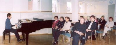 2003_Kaisa Kulhua soittaa vuosikokouksessa