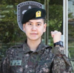 キュヒョン基礎軍事訓練20170530