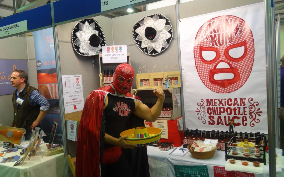 Kankun Sauce at Harrogate Trade Show