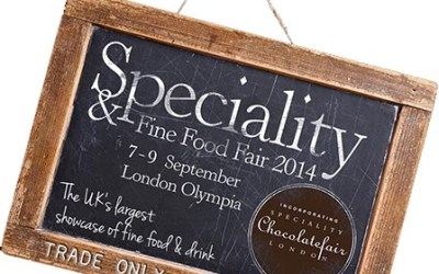 Event: Speciality and Fine food show 7-9 September 2014