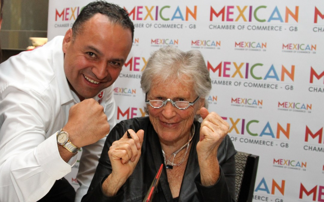 "Meeting Diana Kennedy, ""the Mick Jagger of Mexican food"""
