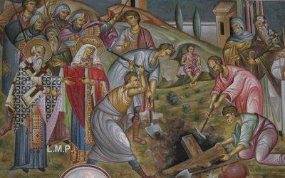 Αποτέλεσμα εικόνας για ευρεση τιμιου σταυρου