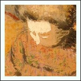 Madame Georges Lemmen Impressionismus Bildausschnit Teekanne Teetasse Tee