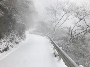 四国は徳島県ドローン特区那賀町へドローン空撮旅行 まさかの雪で吹雪いてる・・ ドローン空撮滋賀 日本ドローンネットワーク協会主催