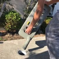 キャンピングカーのカセットトイレの汚水タンクの処理方法と汚水桝 キャンピングカーレンタル滋賀