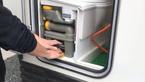 キャンピングカーのトイレ処理方法(洗浄方法)キャンピングカーレンタル滋賀