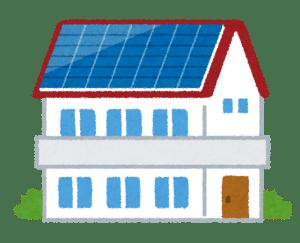 滋賀県の太陽光発電付の家