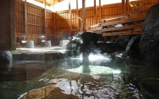 ウエストリバーオートキャンプ場の露天風呂