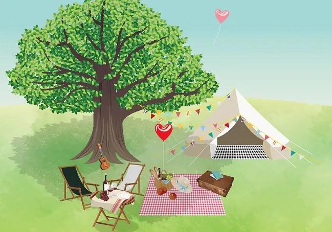 夏キャンプのまとめ記事のアイキャッチ画像