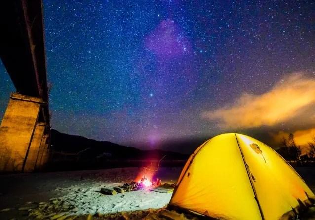 夏キャンプまとめ記事の高地キャンプ寒さ対策の紹介写真