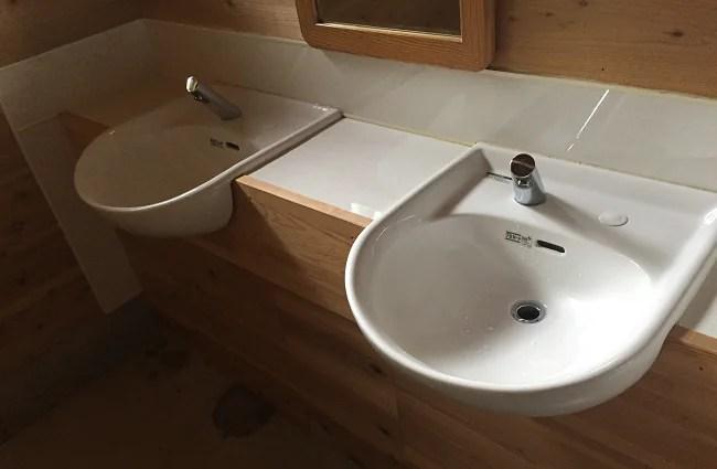 Foresters Village Kobitto(フォレスターズビレッジコビット)のトイレの手洗い場