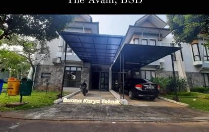 Kanopi Polycarbonate The Avani BSD Tangerang