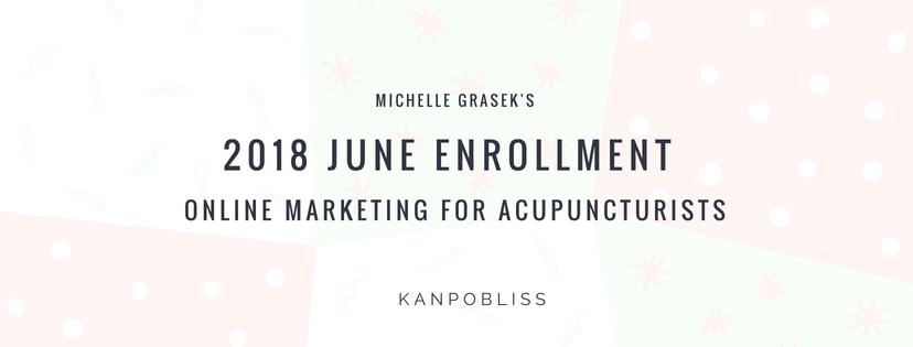 Michelle Grasek 2018 June enrollment