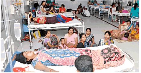 उर्सला अस्पताल 'हाउसफुल', भर्ती पर 'नो एंट्री'