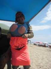 """Una """"viuda"""" en Playas"""