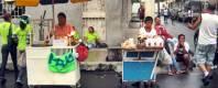 32 - Visitantes y lugareños (mitin Alianza PAÍS barrio Cuba, GYE 2013)