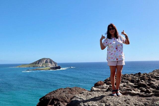 マカプウ岬の絶景