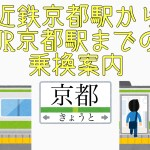 近鉄京都からJR京都