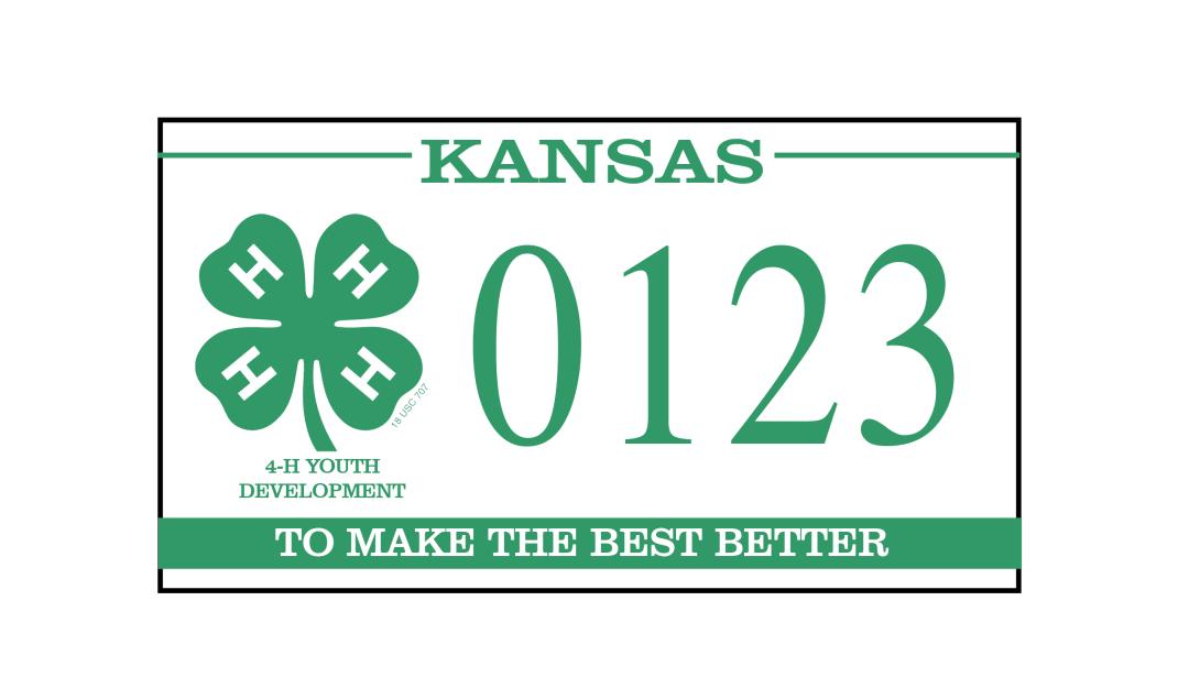 My Clover Tag - Kansas 4-H Foundation