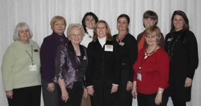 The 2009 Auxiliary Board of Directors Annette McCurdy, Dee McKee, Viola Beatty, Cathy McBride, Cindy Haley, Jean Oswalt, Holly Conser, Ann Conser, President - Stephanie McCurdy