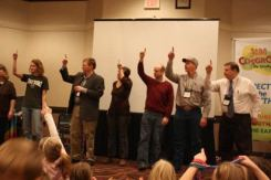 The KAA members were excited to participate in the children's program at the KAA - KAAA Convention