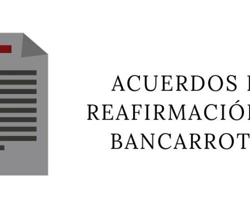 Preguntas frecuentes relacionadas con los Acuerdos de Reafirmación en Bancarrotas