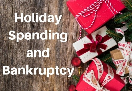 Holiday Spending and Bankruptcy