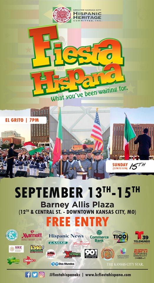 KC Fiesta Hispana - Event Flyer