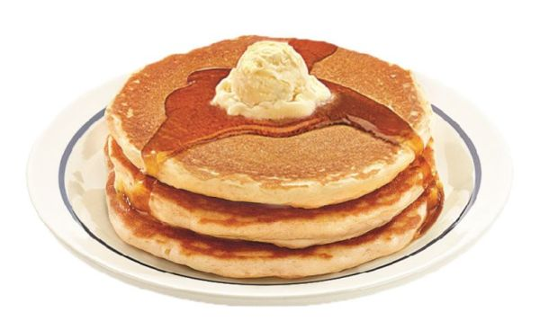 IHOP Kids Eat for Free - IHOP short stack of pancakes