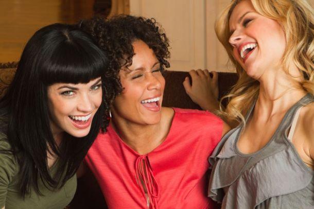 Valentine's Day date night ideas in Kansas City - three women laughing
