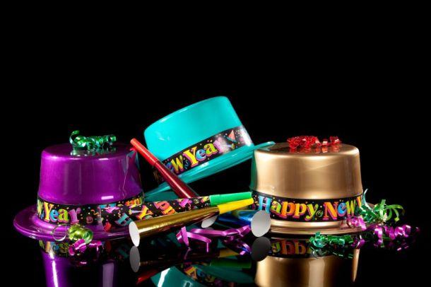 New Year's Eve parties in Kansas City - party hats