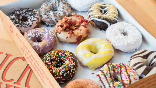 Box of Duck Donuts