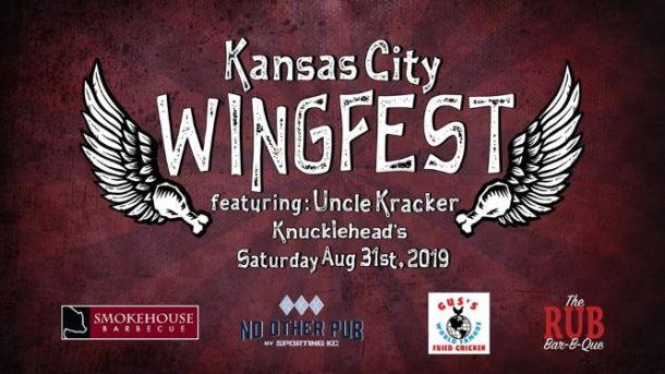 Kansas City Wing Fest banner