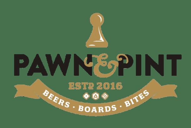 Kansas City Board Game pub - Pawn & Pint logo