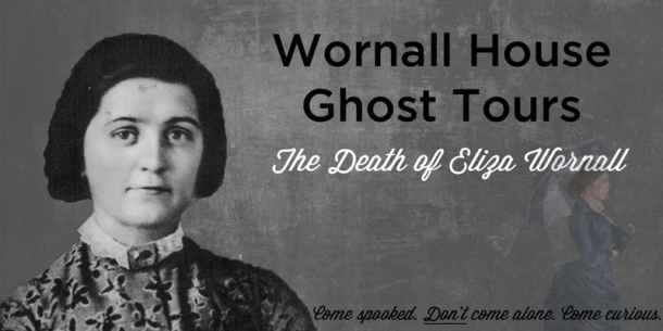 Kansas City Halloween - John Wornall House Ghost Tour flyer